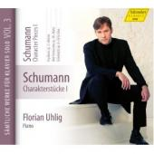 Album artwork for Schumann: Character Pieces 1 / Uhlig