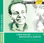 Album artwork for Maazel conducts Beethoven & Bartok