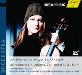 Album artwork for Mozart: Violin Concertos 1-5, etc.