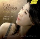 Album artwork for NIGHT STORIES - NOCTURNES / Jenny Lin