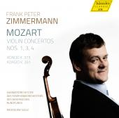 Album artwork for Mozart: Violin Concertos Nos. 1, 3, 4 - Frank Pete