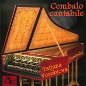 Album artwork for CEMBALO CANTABILE / Vorobjova