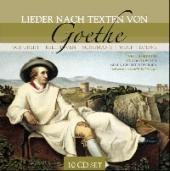 Album artwork for Lieder on Geothe Textx (Schubert, Beethoven...)