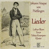Album artwork for Puttlinger: Lieder / Blum, Krampen