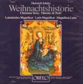 Album artwork for Weihnachtshistorie, Magnificat