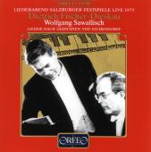 Album artwork for Eichendorff-Lieder, Salzburg Festival Live 1975