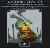 Album artwork for Die Sonaten f�r Violoncello und Basso continuo