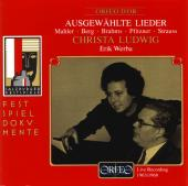 Album artwork for Ausgew�hlte Lieder
