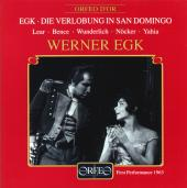 Album artwork for Egk: Die Verlobung in San Domingo
