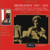 Album artwork for Highlights 1955-1974, Christa Ludwig