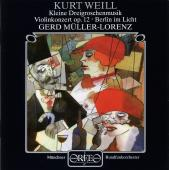 Album artwork for Kleine Dreigroschenmusik; Violinkonzert op. 12; Be