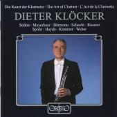 Album artwork for Die Kunst der Klarinette
