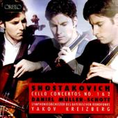 Album artwork for Shostakovich: Cello Concertos 1&2 / Muller-Schott