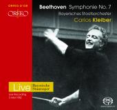 Album artwork for Beethoven: Symphonie No. 7 A-Dur op. 92, kleiber