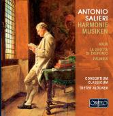 Album artwork for Salieri: Harmoniemusiken