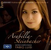 Album artwork for Arabella Steinbacher plays Brahms & Schumann