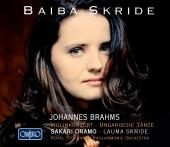 Album artwork for Brahms: Violin Concerto, Hungarian Dances / Skride
