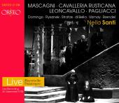 Album artwork for Cavalleria Rusticana / Pagliacci - Domingo, Rysane