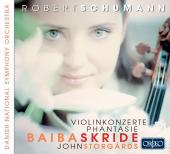 Album artwork for Schumann: Violin & Cello Concertos / Skride