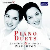Album artwork for Piano Duets / Naughtons