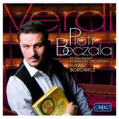 Album artwork for Verdi: Arias / Piotr Beczala