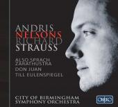 Album artwork for Andris Nelsons conducts Richard Strauss