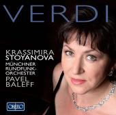Album artwork for Verdi: Opera Arias - Krassimira Stoyanova