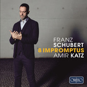 Album artwork for Schubert: 8 IMPROMPTUS / Katz