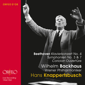 Album artwork for Beethoven: Piano Concerto No. 4 - Symphonies Nos.