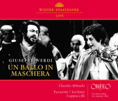 Album artwork for Verdi: Un Ball in Maschera / Pavarotti, Abbado