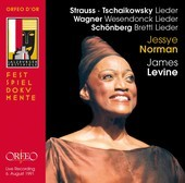 Album artwork for Jessye Norman Sings Strauss, Tchaikovsky, Wagner a