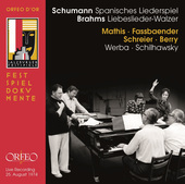 Album artwork for Schumann: Spanisches Liederspiel, Op. 74 - Brahms: