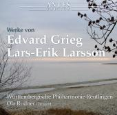 Album artwork for Orchestral Works by Grieg and Larsson / Rudner