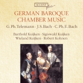 Album artwork for GERMAN BAROQUE CHAMBER MUSIC