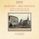 Album artwork for Mozart & Beethoven: Quintets (Octophoros)
