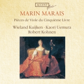 Album artwork for Marais: Pieces de Viole du Cinquieme Livre
