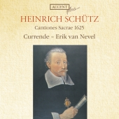 Album artwork for Schutz: Cantiones Sacrae 1625 (Currende)