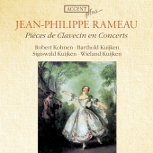 Album artwork for RAMEAU : PIÈCES DE CLAVECIN