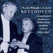 Album artwork for CHARLES MUNCH CONDUCTS BEETHOVEN