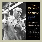 Album artwork for CHARLES MUNCH  IN BOSTON- THE EARLY YEARS