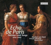Album artwork for ECHO DE PARIS: PARISIAN LOVE SONGS 1610 - 1660
