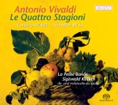 Album artwork for VIVALDI: LE QUATTRO STAGIONI