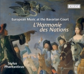 Album artwork for L'HARMONIE DES NATIONS, EUROPEAN MUSIC AT THE BAV