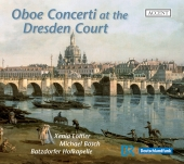 Album artwork for OBOE CONCERTI AT THE DRESDEN COURT