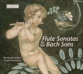 Album artwork for FLUTE SONATAS BY THE BACH SONS