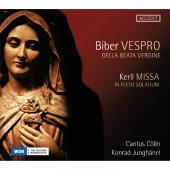 Album artwork for Biber: Vespro Della Beata Vergine