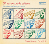 Album artwork for Cifras selectas de guitarra: Guitar Muic by Santia