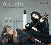Album artwork for Why not here - Music for two Lyra Viols