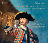 Album artwork for Telemann: Trumpet & Horn Concertos