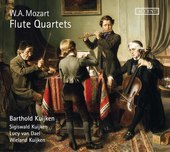 Album artwork for Mozart: Flute Quartets / Kuijken